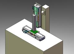 PCB基板喷字装置