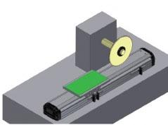 PCB线性滑台电路板切割装置