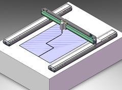 玻璃基板切割作业