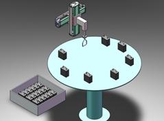 圆盘机上组立装置
