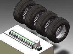轮胎表面检查装置