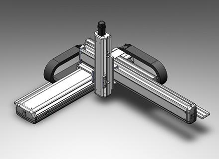 螺杆型直交机械手